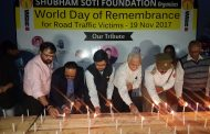 Observing The World Day of Remembrance for Road Traffic Victims