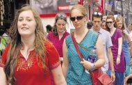 विदेशी पर्यटकों के आगमन में  18.1 % का इजाफा
