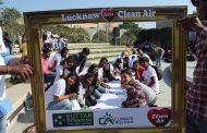 """""""स्वच्छ हवा एवं पर्यावरण हमारा वैलेंटाइन"""" के सन्देश के साथ प्रदेश भर के युवा हुए एकजुट"""