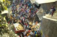 लखनऊ में श्रद्धालुओं से भरी ट्रैक्टर ट्राली पुल के नीचे गिरी,5 की मौत 30 घायल