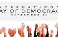 अंतर्राष्ट्रीय लोकतंत्र दिवस
