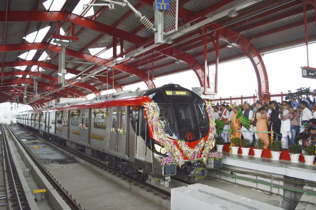 जनता के लिए लखनऊ मेट्रो शुरू।
