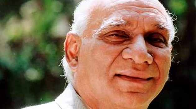 Indian Film Icon Yash Chopra