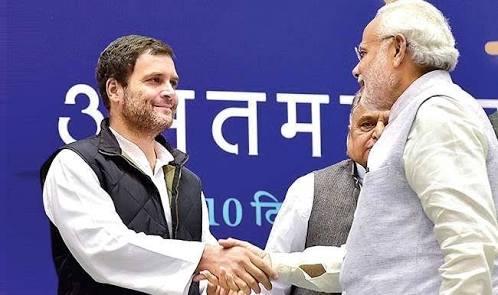 राहुल गांधी ने किया मोदी पर तीखा वार