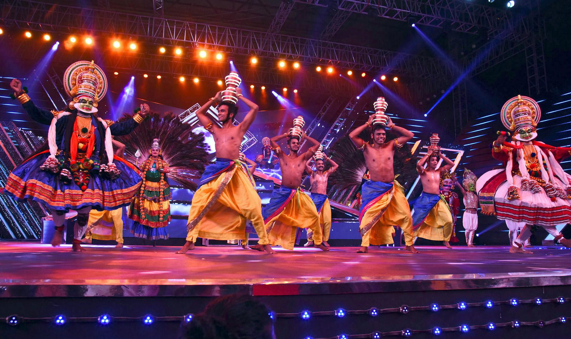 भारत का 48वां अंतर्राष्ट्रीय समारोह का गोवा में उद्घाटन