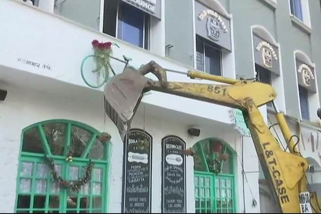 Mumbai Pub Incident: BMC's bulldozers on encroachment, restaurant owners given lookout notice.