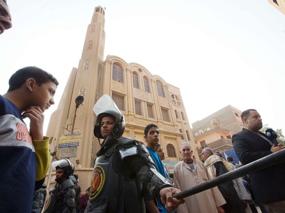Egypt says 10 killed in attack outside Cairo Church
