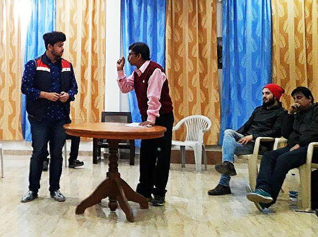 मशहूर नाटक-नॉट गिल्टी मंचन 21 फरवरी को