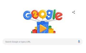 गूगल का  20वां  साल