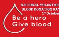 National Voluntary Blood Donation Day