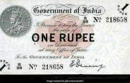 भारत में 1 रुपये के नोट का जन्म