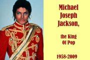 Michael Joseph Jackson