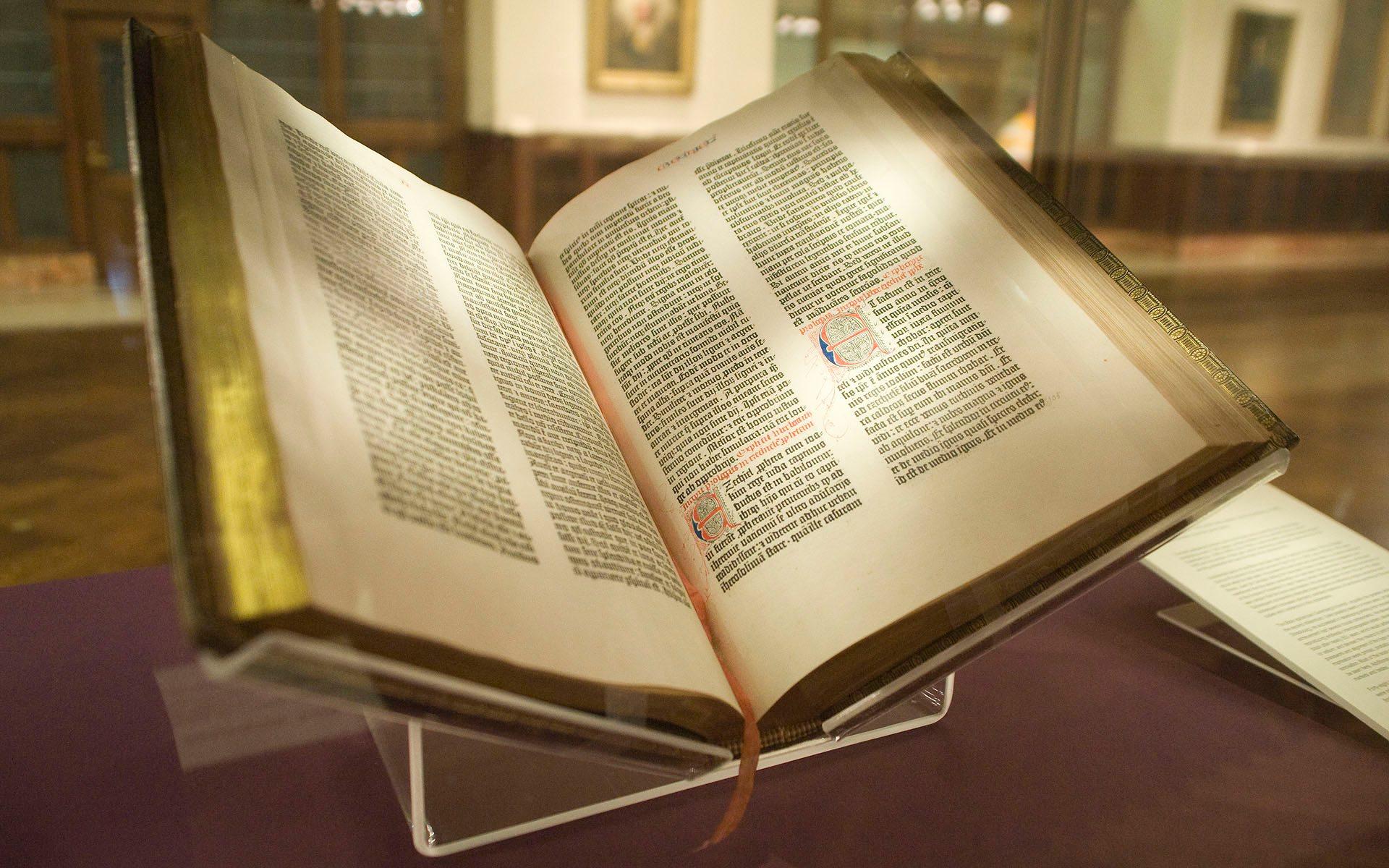 दुनिया की पहली बाइबिल