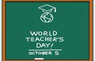 विश्व शिक्षक दिवस